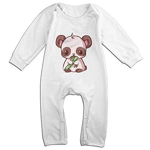 Posit-Babys-Kawaii-Panda-Boys-Girls-Kids-Creeper-Romper-Bodysuits-Jumpsuits-Size-US-White