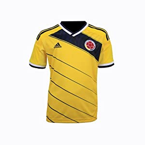 Adidas Colombia Home Jersey Youth 2014 (YXS)