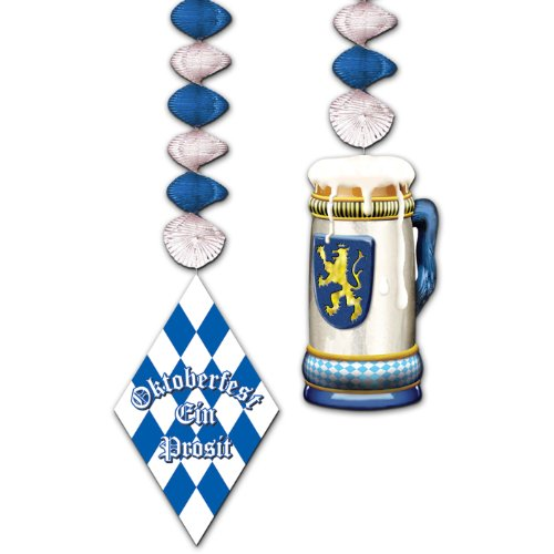 Oktoberfest Danglers Party Accessory (1 count) (2/Pkg)