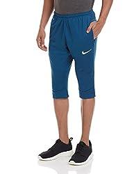 Nike Men's Polyester Track Pants (886059885580_630826-496_Large_Blue)