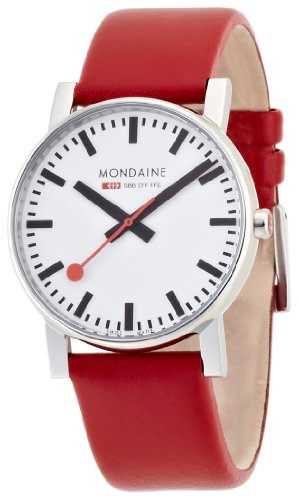 Mondaine - A660.30344.11SBC - Montre Homme - Quartz - Bracelet Cuir