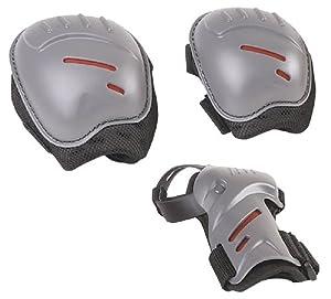 Hudora 83161 - Biomechanisches Protektorenset joey für Kinder, Größe: S