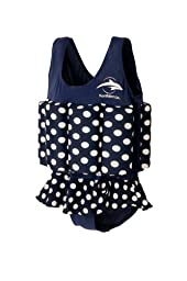 Konfidence Floatsuit, Navy Polka Dot, 4-5 Years