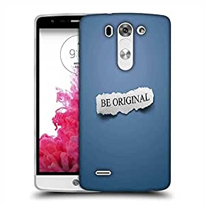 Snoogg Be Original Designer Protective Phone Back Case Cover For LG G3 BEAT STYLUS