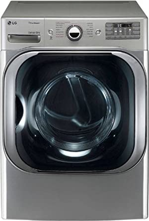 LG DLGX8001V 29 Gas Steam Dryer with 9.0 cu. ft. Mega Capacity
