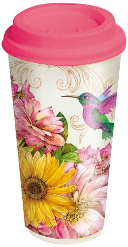 Lang Hummingbird Ceramic Travel Cup