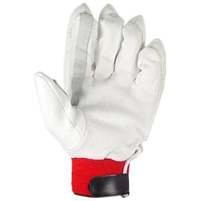 Slazenger Academy Batting Glove, Youth (White)