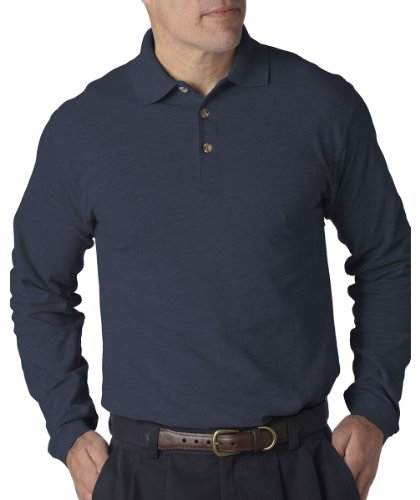 8532-ultraclub-adult-long-sleeve-classic-pique-polo-storm-blue-s