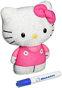 Hello Kitty Color Me Kitty Small Plush in Pink