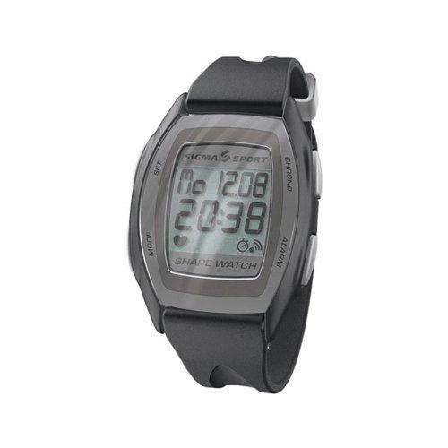 Cheap Sigma Shape Watch Heart Rate Monitor 8 Functions Black (B000C1YTFY)