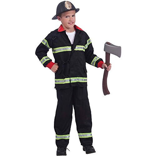 Fireman Hero Toddler Costume