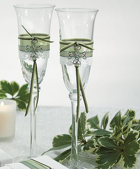 Celtic Charm Toasting Flutes