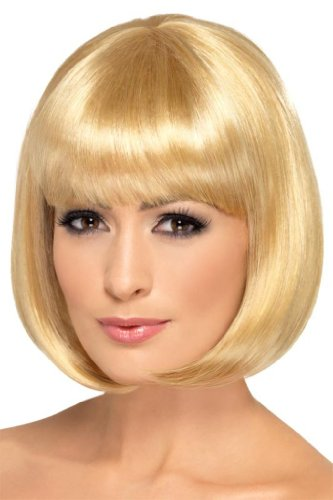 Smiffy'S Partyrama Wig, Dark Blonde, One Size