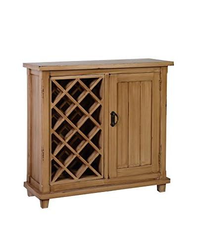 Jeffan Carson Wine Cabinet, Natural