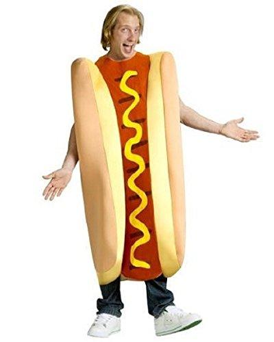[Adult Hot Dog Costume] (Hot Dog Costume For Adults)