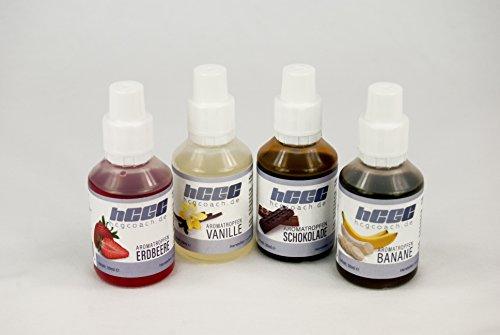 Aromatropfen / FlavDrops zum süßen und aromatisieren 4er Pack zum Sparpreis Picture