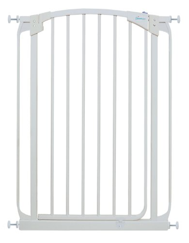 Dreambaby Extra Tall Swing Closed Safety Gate, White