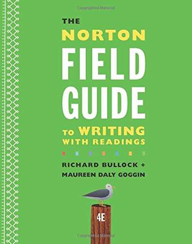 The Norton Field Guide To Writing With Readings And Handbook (Fourth Edition) PDF