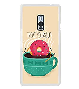 Cuppa 2D Hard Polycarbonate Designer Back Case Cover for OnePlus 2 :: OnePlus Two :: One +2