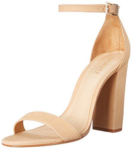 Schutz Women's Enida Dress Sandal, Lightwood, 8 M US (Schutz Shoes compare prices)