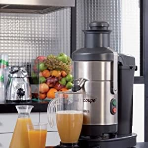 Robot Coupe J100 ULTRA 120V 1/3 HP Automatic Juicer from Robot Coupe