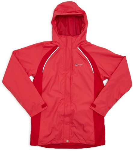 Berghaus Binsey 3 In 1 Girls Jacket - Sorbet Pink/Barberry Pink-Barberry Pink, 5-6 years