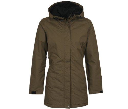Bergson Outdoor Cappotto invernale ALBA - Donna, Marrone (Beech [229]), 42
