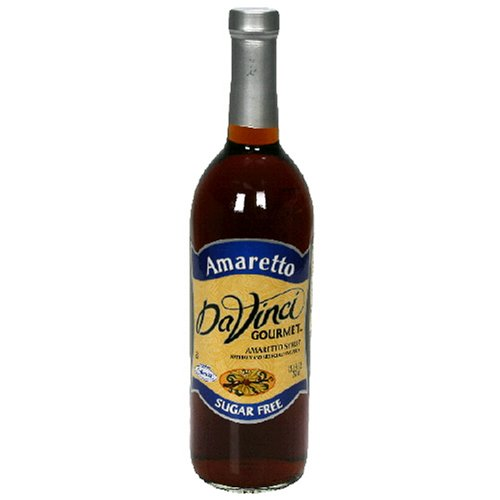 Davinci Gourmet, Coffee Syrup Sf Amaretto, 25.4-Ounce