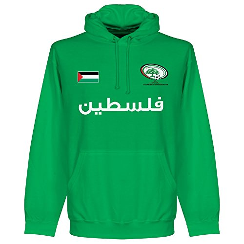 Palestine Football Hoodie - Green - S (Palestine Football Jersey compare prices)