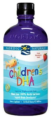 Children's DHA Liquid 4 Oz, Nordic Naturals