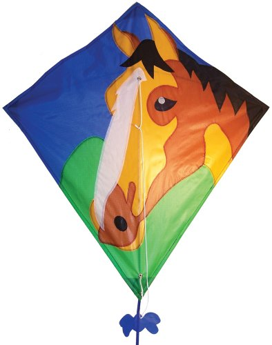 In the Breeze Horse Diamond Kite, 28-Inch