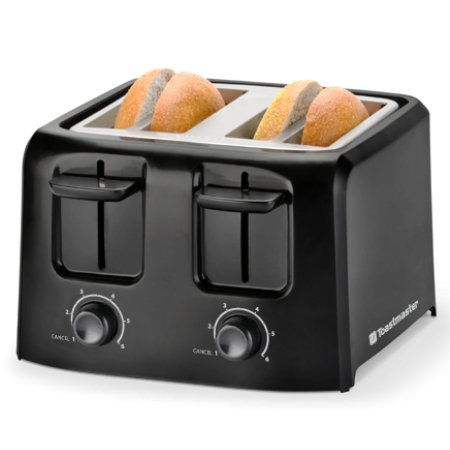 Toastmaster 4 slice cool touch toaster tm 45ts home garden Toastmaster cool touch exterior deep fryer
