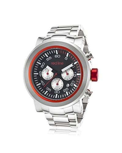 red line Men's 50050-11-RDS Torque Sport Silver/Black Stainless Steel Watch