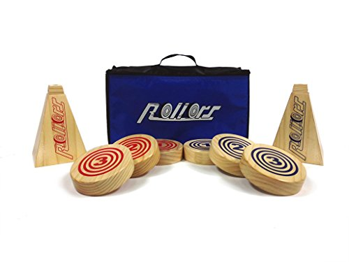Rollors-Backyard-Game-for-Kids-Groups-of-All-Ages-Families-The-1-Lawn-Game-for-Summertime-Fun-Tailgating-Camping-Outdoor-Parties-BBQs-Picnics-Beach-Days-more-All-In-One-Wooden-Yard-Activity-Game-Combi