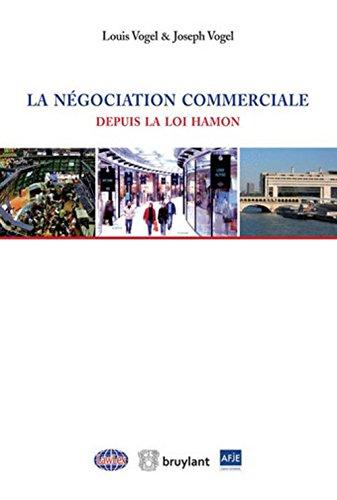 Le droit de la négociation commerciale depuis la loi Hamon