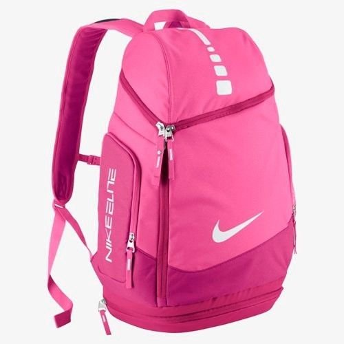 Brand New Nike Hoops Elite Max Air Team Backpack [Ba4880-661] Pinkfire Ii//Fusion Pink front-1045880