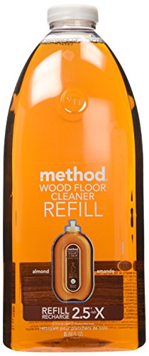 Method Squirt and Mop Wood Floor Cleaner Refill, Almond, 68 Ounce (Method Wood Cleaner compare prices)
