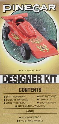 Designer Car Kit w/Wedge, Black Widow