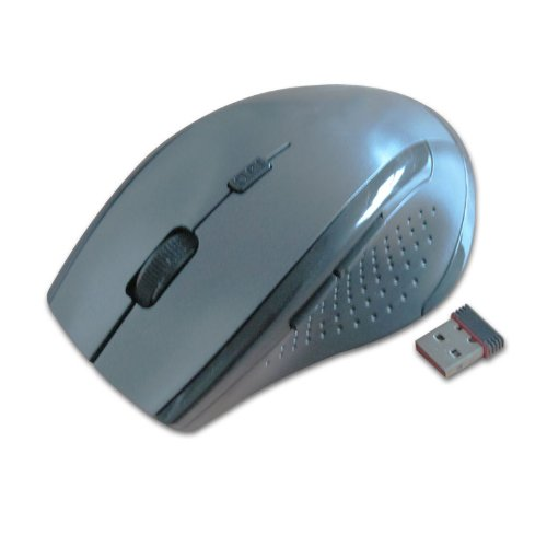 Generic Wireless M215 2.4G USB Mouse for Computer Blue