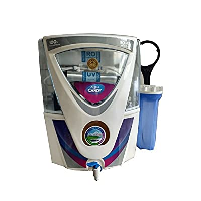 Aquaultra Candy 17L Storage 14Stage Ro+Uv+Uf+Mineral+Tds Controller Water Purifier