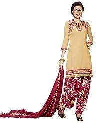 StarMart Womens Cotton Patiyala Dress Material VOL 27 - 3757