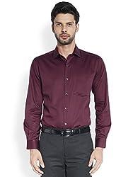 ColorPlus Dark Maroon Shirt ( 8907397099858_CPSA06289-M8_00M_Dark Maroon)
