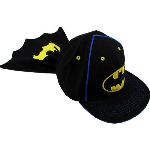 Batman-Baby-Toddler-Caped-Baseball-Hat-Cap-BTS41869ST-12M-3T