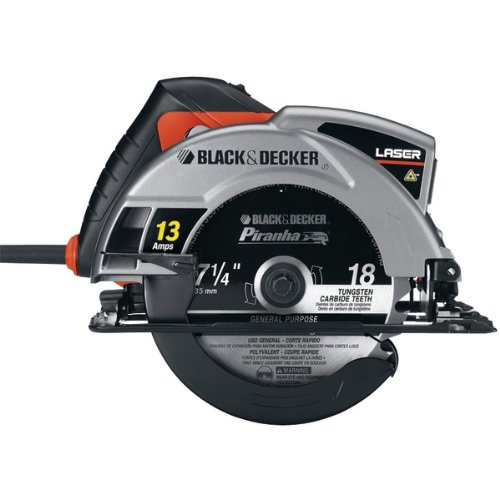 41rWwXIxriL Black & Decker CS1030L 13 Amp 7 1/4 Inch Laser Circular Saw with Soft Grips