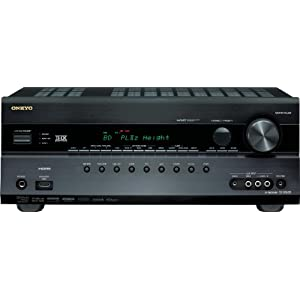 41rWyCYmI0L. SL500 AA300  Onkyo TX SR608 7.2 Channel A/V Home Theater Receiver (Black)   $379