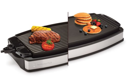 Wolfgang Puck WPRGG0010 1800-Watt Reversible Nonstick Grill and Griddle