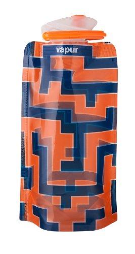 vapur-runaway-shades-18oz-water-bottle-orange-blue-maze-flexible-durable-05l