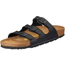 Birkenstock Women´s Florida Black synthetic Sandals 39(25cm) N 054793