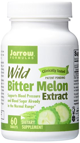 Jarrow Formulas Wild Bitter Melon Extract, Supports Blood Pressure and Blood Sugar Already in the Normal Range, 60 Tabs