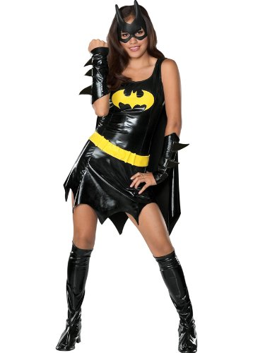Batgirl Costume Batman Movie Teen Theatre Costumes Deluxe Superhero 6 Pc Set
